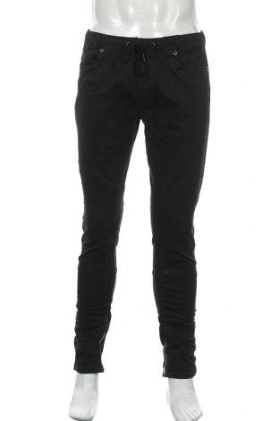 Мъжки панталон Brave Soul, Размер M, Цвят Черен, 98% памук, 2% еластан, Цена 23,68лв.