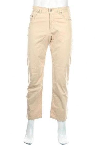 Pánské kalhoty  Brax, Velikost S, Barva Béžová, 97% bavlna, 3% elastan, Cena  181,00Kč