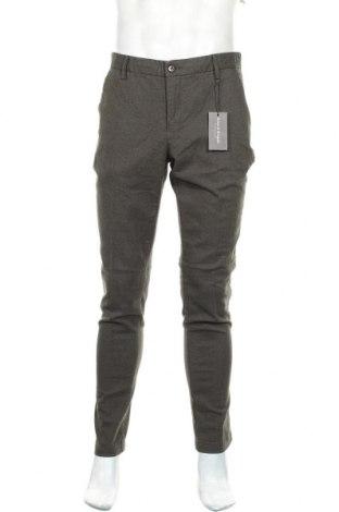 Pánské kalhoty  Bruun & Stengade, Velikost L, Barva Zelená, 98% bavlna, 2% elastan, Cena  569,00Kč