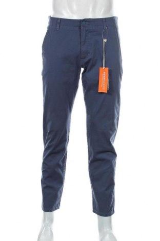 Мъжки панталон Dockers, Размер L, Цвят Син, 91% памук, 9% еластан, Цена 31,05лв.
