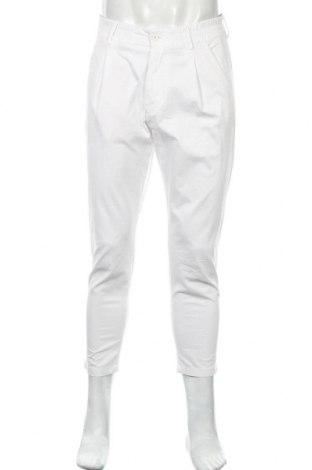 Pánské kalhoty  Drykorn for beautiful people, Velikost M, Barva Bílá, 97% bavlna, 3% elastan, Cena  317,00Kč