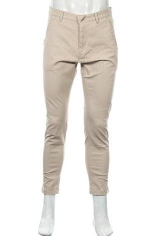 Pánské kalhoty  Drykorn for beautiful people, Velikost M, Barva Béžová, 98% bavlna, 2% elastan, Cena  365,00Kč