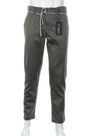 Мъжки панталон Drykorn for beautiful people, Размер S, Цвят Зелен, 54% памук, 43% вискоза, 3% еластан, Цена 59,75лв.