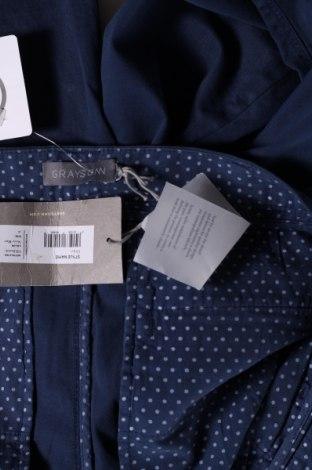 Мъжки панталон Grayson, Размер M, Цвят Син, 97% памук, 3% еластан, Цена 17,25лв.