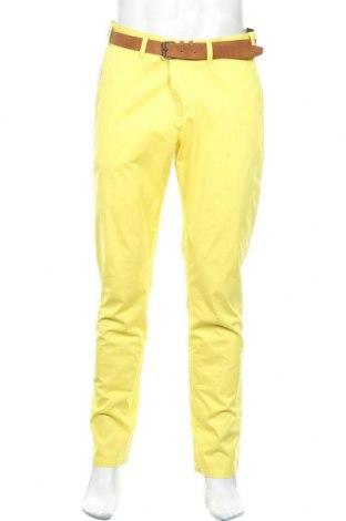 Pantaloni de bărbați McNeal, Mărime L, Culoare Galben, 97% bumbac, 3% elastan, Preț 140,52 Lei