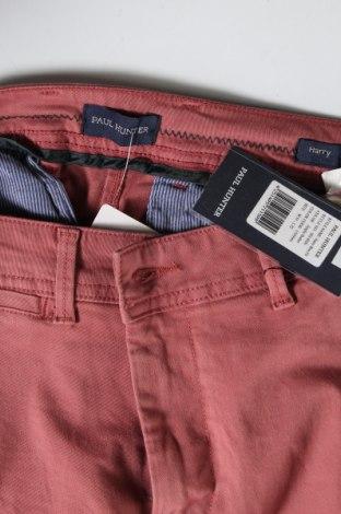 Мъжки панталон Paul Hunter, Размер M, Цвят Розов, 97% памук, 3% еластан, Цена 27,03лв.