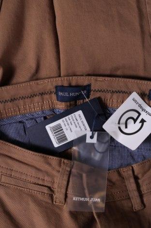 Мъжки панталон Paul Hunter, Размер S, Цвят Кафяв, 98% памук, 2% еластан, Цена 20,43лв.