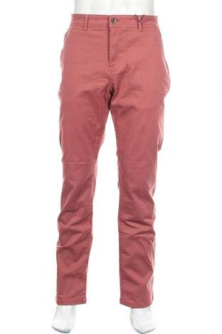 Мъжки панталон Paul Hunter, Размер XL, Цвят Розов, 97% памук, 3% еластан, Цена 27,03лв.