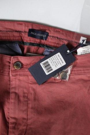 Мъжки панталон Paul Hunter, Размер L, Цвят Розов, 97% памук, 3% еластан, Цена 27,03лв.