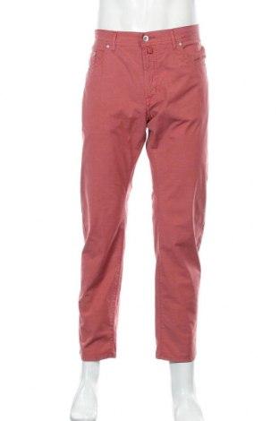 Мъжки панталон Pierre Cardin, Размер L, Цвят Червен, 69% памук, 28% полиестер, 3% еластан, Цена 31,80лв.