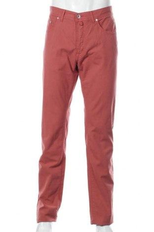 Мъжки панталон Pierre Cardin, Размер L, Цвят Розов, 98% памук, 2% еластан, Цена 31,80лв.