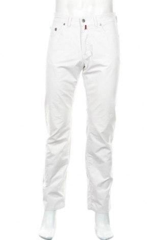 Мъжки панталон Pierre Cardin, Размер M, Цвят Бял, 96% памук, 4% еластан, Цена 14,56лв.