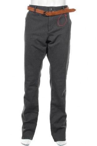 Pánské kalhoty  S.Oliver, Velikost XL, Barva Šedá, 98% bavlna, 2% elastan, Cena  645,00Kč