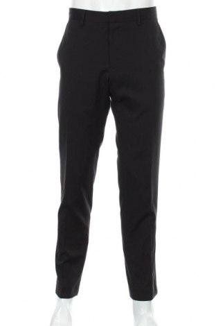 Pánské kalhoty  S.Oliver, Velikost L, Barva Černá, 66% polyester, 32% viskóza, 2% elastan, Cena  402,00Kč