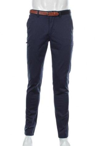 Pánské kalhoty  Selected Homme, Velikost M, Barva Modrá, 98% bavlna, 2% elastan, Cena  968,00Kč