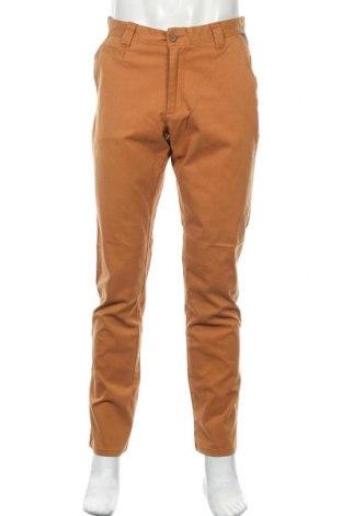 Мъжки панталон Signal, Размер M, Цвят Кафяв, 98% памук, 2% еластан, Цена 20,24лв.