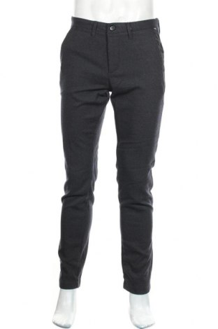 Мъжки панталон Sondag & Sons, Размер S, Цвят Сив, 64% полиестер, 34% вискоза, 2% еластан, Цена 22,32лв.