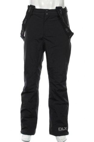 Мъжки панталон за зимни спортове DLX by Trespass, Размер M, Цвят Черен, Полиестер, Цена 89,46лв.