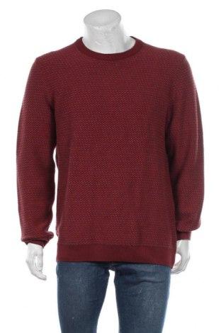 Мъжки пуловер Armedangels, Размер XL, Цвят Червен, 100% памук, Цена 38,27лв.