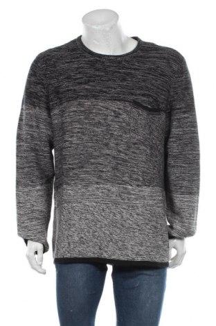 Мъжки пуловер Blend, Размер XXL, Цвят Сив, Памук, Цена 37,17лв.