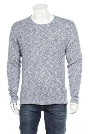 Мъжки пуловер Blend, Размер XL, Цвят Син, Памук, Цена 35,10лв.