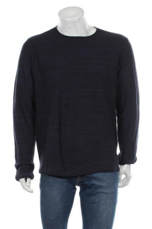 Мъжки пуловер Blend, Размер XXL, Цвят Син, Памук, Цена 40,50лв.