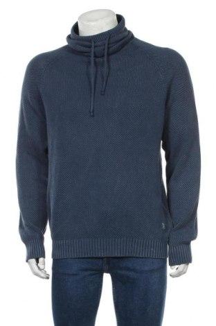 Мъжки пуловер Blend, Размер XL, Цвят Син, Памук, Цена 59,25лв.