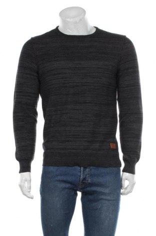 Мъжки пуловер Blend, Размер S, Цвят Сив, 100% памук, Цена 44,85лв.