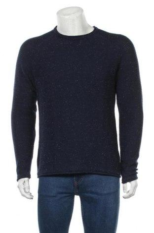 Мъжки пуловер Blend, Размер XL, Цвят Син, 100% памук, Цена 44,85лв.