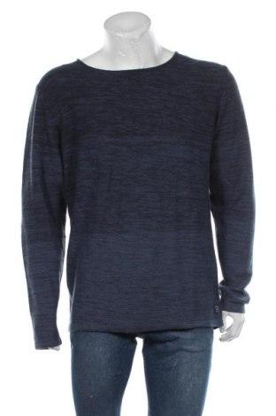 Мъжки пуловер Blend, Размер XXL, Цвят Син, 60% памук, 40% акрил, Цена 44,85лв.