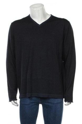 Ανδρικό πουλόβερ Brax, Μέγεθος XL, Χρώμα Μπλέ, Μαλλί, Τιμή 30,45€