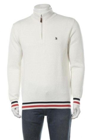 Мъжки пуловер Giorgio Di Mare, Размер XL, Цвят Бял, Памук, Цена 64,50лв.