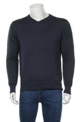 Ανδρικό πουλόβερ Hugo Boss, Μέγεθος XXL, Χρώμα Μπλέ, Τιμή 62,40€