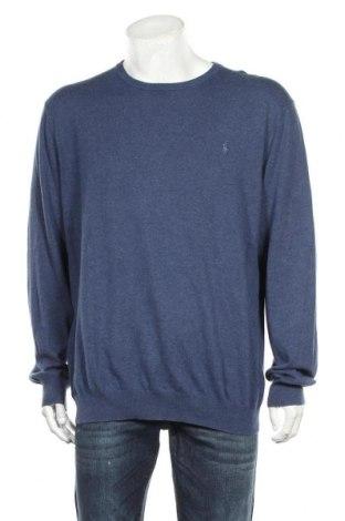 Pánský svetr  Polo By Ralph Lauren, Velikost XXL, Barva Modrá, Bavlna, Cena  1360,00Kč