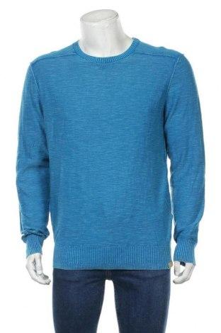 Ανδρικό πουλόβερ Tom Tailor, Μέγεθος XL, Χρώμα Μπλέ, Βαμβάκι, Τιμή 16,29€