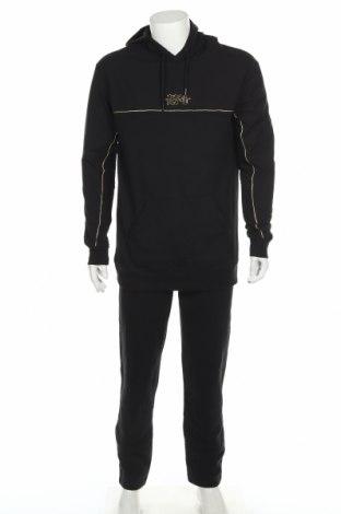 Мъжки спортен комплект 274, Размер XL, Цвят Черен, Памук, Цена 59,25лв.
