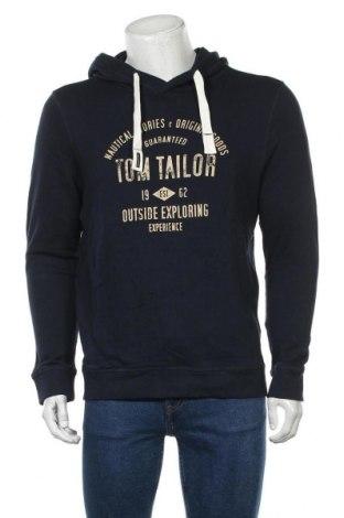 Мъжки суичър Tom Tailor, Размер L, Цвят Син, Памук, Цена 25,20лв.