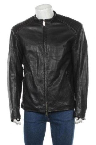 Pánská kožená bunda  Armani Jeans, Velikost XL, Barva Černá, Eko kůže, Cena  3765,00Kč