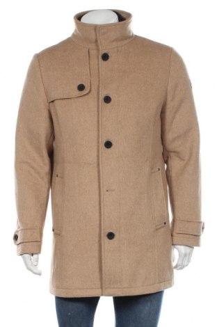 Мъжко палто Tom Tailor, Размер M, Цвят Кафяв, 73% полиестер, 13% вълна, 7% памук, 3% полиакрил, 2% вискоза, 2% полиамид, Цена 94,05лв.