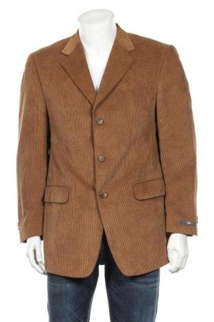 Мъжко сако, Размер L, Цвят Кафяв, 83% полиестер, 17% полиамид, Цена 7,61лв.