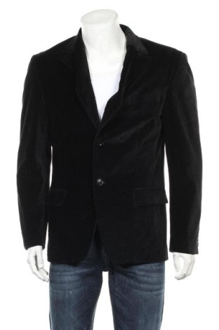 Мъжко сако, Размер L, Цвят Черен, 96% памук, 4% еластан, Цена 6,83лв.