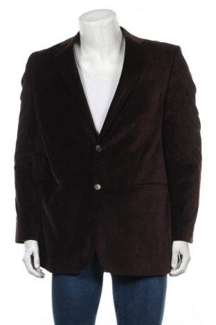 Мъжко сако, Размер L, Цвят Кафяв, Памук, Цена 6,30лв.