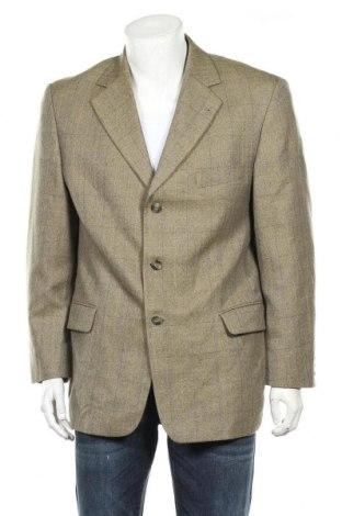 Мъжко сако Canda, Размер L, Цвят Зелен, 55% полиестер, 45% вълна, Цена 8,14лв.