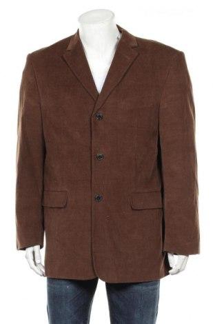 Мъжко сако Henry Morell, Размер XL, Цвят Кафяв, Памук, Цена 8,14лв.