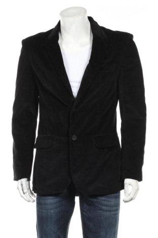 Мъжко сако Koton, Размер M, Цвят Черен, 95% памук, 5% еластан, Цена 6,83лв.