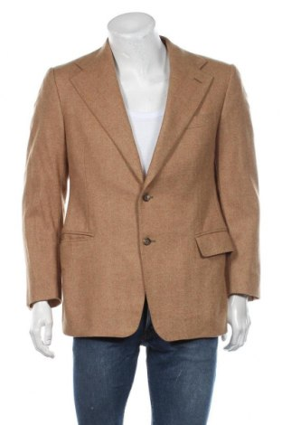 Sacou de bărbați Polo By Ralph Lauren, Mărime L, Culoare Maro, 100% lână, Preț 144,90 Lei