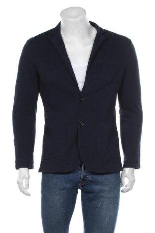 Мъжко сако Premium By Jack & Jones, Размер L, Цвят Син, 70% полиестер, 30% памук, Цена 8,21лв.