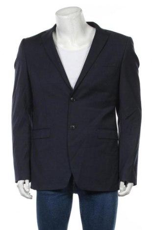 Мъжко сако Esprit, Размер L, Цвят Син, 68% полиестер, 30% вълна, 2% еластан, Цена 8,14лв.