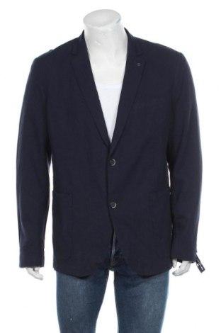 Ανδρικό σακάκι Tom Tailor, Μέγεθος XL, Χρώμα Μπλέ, 55% λινό, 45% βαμβάκι, Τιμή 49,87€