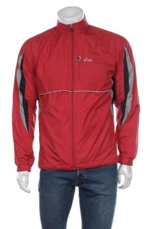 Ανδρικό αθλητικό μπουφάν ASICS, Μέγεθος M, Χρώμα Κόκκινο, Πολυεστέρας, Τιμή 10,72€